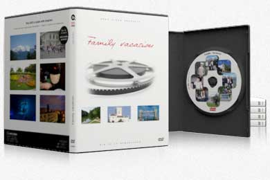 Personalization, Customize your DVD